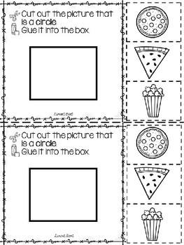 2D Shapes: Circle {FREEBIE}