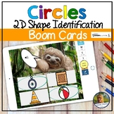 2D Shapes Circles Digital Game   Boom Cards   Distance Learning