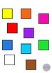 2D Shapes Clip Art- 10 Shapes in 10 Colors
