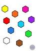 2D Shapes Clip Art Illustrations 10 Shapes in 10 Colors