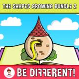 2D Shapes Clipart Growing Bundle 2