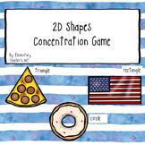2D Shapes Concentration