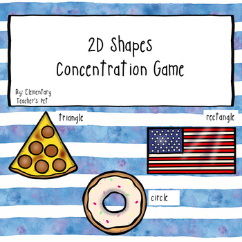 2D Shapes Concentration