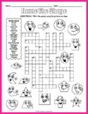 Polygon Activity - 2D Shapes Crossword Puzzle