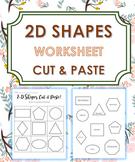 2D Shapes (Cut and Paste)