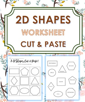 2D Shapes (Cut and Paste)