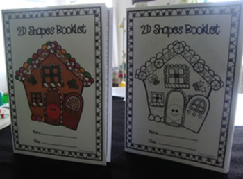 Gingerbread 2D Shapes