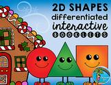 Gingerbread 2D Shapes