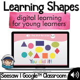 2D Shapes Digital Activity - Distance Learning - Google Classroom - Seesaw