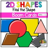 2D Shapes Digital Game   Boom Cards   Distance Learning