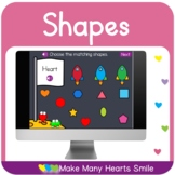 2D Shapes Distance Learning Game MHS140