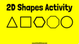 2D Shapes Drag and Drop Google Slides Activity for Google