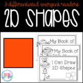 2D Shapes Emergent Readers