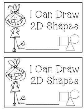 2D Shapes Emergent Readers