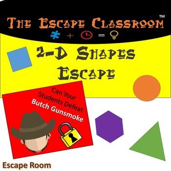 2D Shapes Escape Room