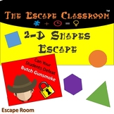 2D Shapes Escape Room | The Escape Classroom