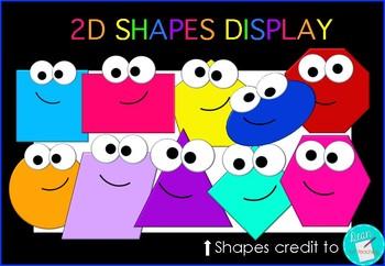 2D Shapes FREEBIE
