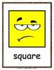2D Shapes - Flash Cards (English Version / Letter Size)