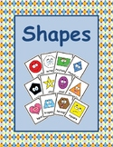 2D Shapes - Flash Cards (English Version / Letter Size)
