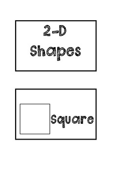 2D Shapes Flashcards
