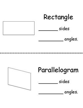 2D Shapes Flip Book