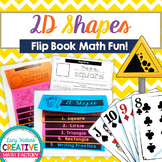2D Shapes Flip Book | Flipbook | Math | Common Core | No F
