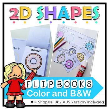 2D Shapes Flip Books