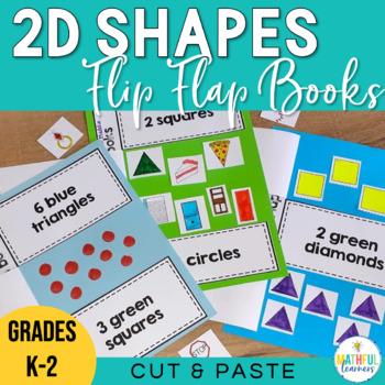 2D Shapes Flip Flap Books