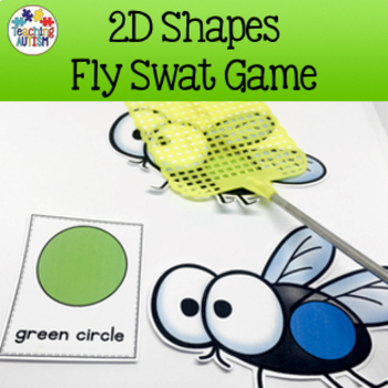 2D Shapes Fly Swat Game