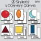 """2D Shapes """"Four Corners"""" Game"""