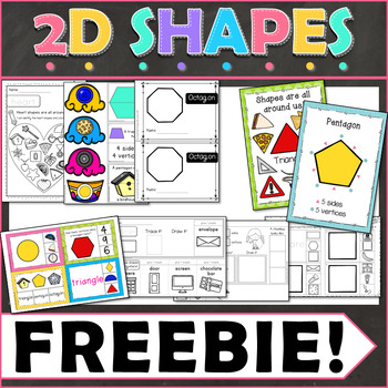 2D Shapes Freebie