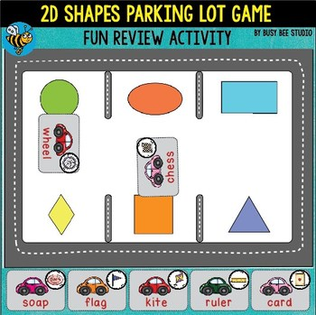 "2D Shapes Game ""What shape is it?"""