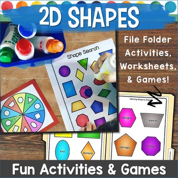 2D Shapes Games
