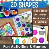 2D Shapes Games