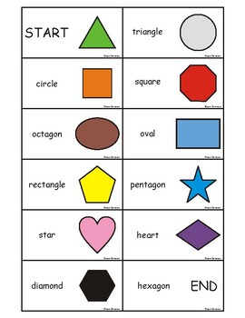 2d Shapes Games And Flashcards Ebook By Desert Blossom