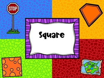 2D Shapes Geometry 4 Corners Game