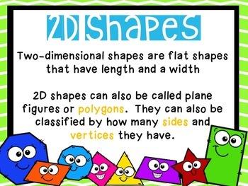 2D Shapes Geometry BUNDLE
