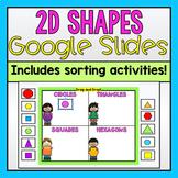 2D Shapes Google Slides (Distance Learning)
