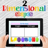 2D Shapes Google Slides Distance Learning