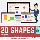 2D Shapes - 1st grade