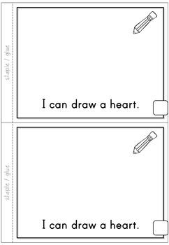 2D Shapes Heart Emergent Reader