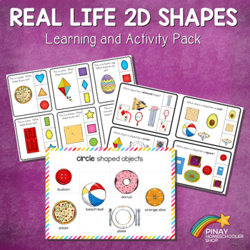 Real Life 2D Shapes Learning Pack