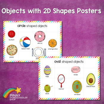 MontessoriLove Real Life 2D Shapes Learning Pack