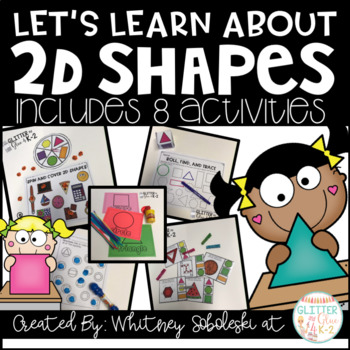 2D Shapes: Includes 8 Interactive Activities