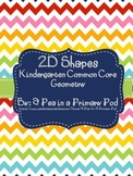 2D Shapes Kindergarten Common Core Geometry