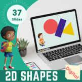 2D Shapes - Kindergarten, Year 1