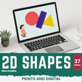 2D Shapes - Kindergarten