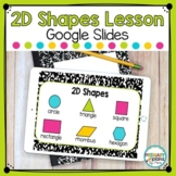 2D Shapes Lesson Distance Learning