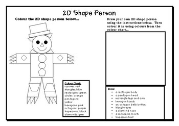 2D Shapes- Making Pictures