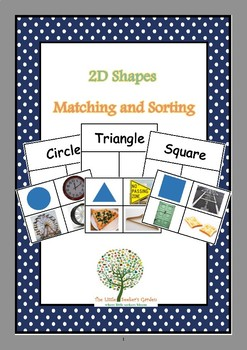 2D Shapes Matching and Sorting